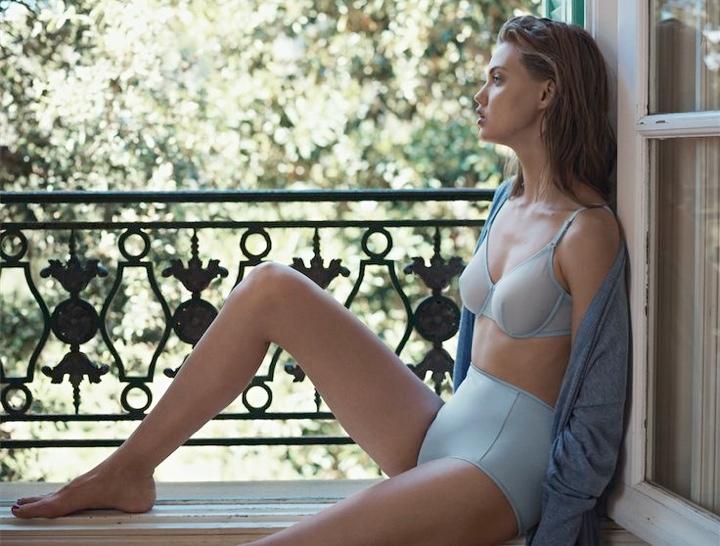 lindsey wixson eres lingerie6 Lindsey Wixson Stars in Eres Lingerie Spring 2014 Campaign