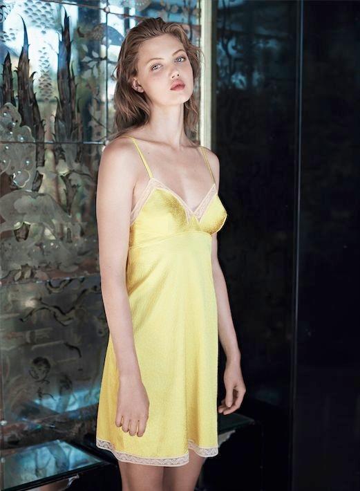 lindsey wixson eres lingerie7 Lindsey Wixson Stars in Eres Lingerie Spring 2014 Campaign