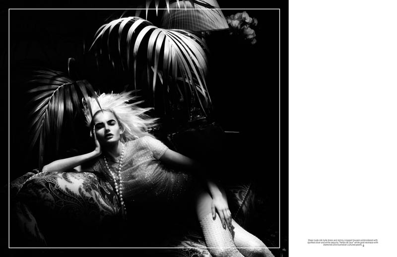 Isabel Scholten Wears Chanel Couture in L'Officiel Singapore 7th Anniversary Issue