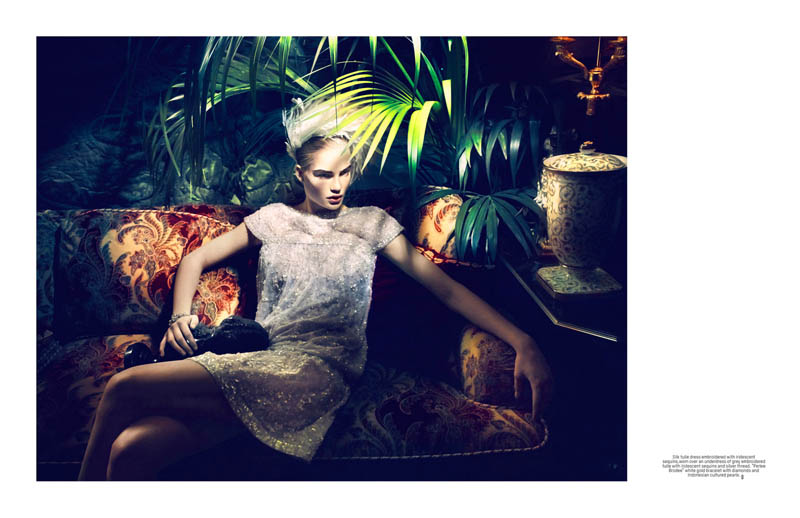 lofficiel singapore anniversary6 Isabel Scholten Wears Chanel Couture in LOfficiel Singapore 7th Anniversary Issue