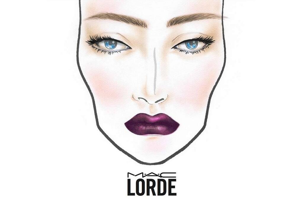 Lorde x MAC Face Palette / Image via Twitter