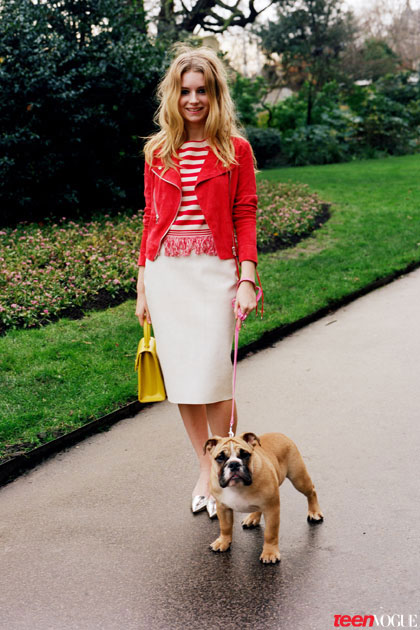 lottie moss 2014 2 Kates Sister, Lottie Moss, Makes Vogue Debut in Teen Vogue Shoot