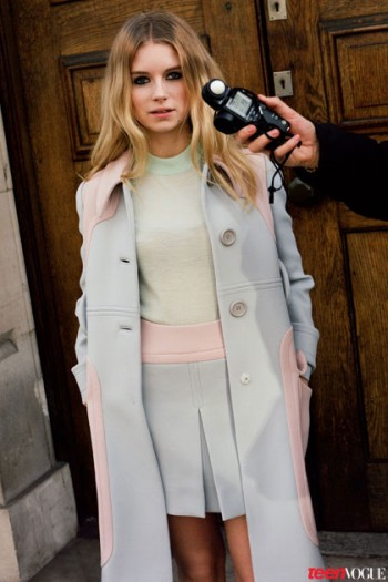 Kate's Sister, Lottie Moss, Makes Vogue Debut in Teen Vogue Shoot
