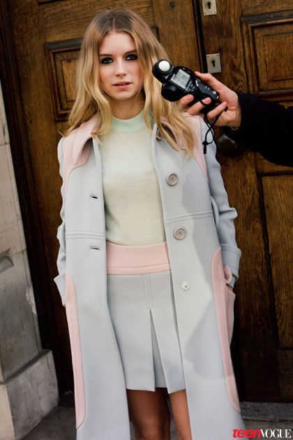 lottie moss 2014 3 Kates Sister, Lottie Moss, Makes Vogue Debut in Teen Vogue Shoot