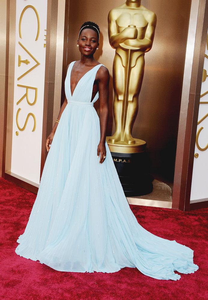 lupita prada 2014 Oscars Red Carpet Looks