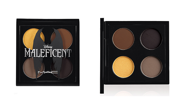 mac cosmetics maleficent eyeshadow First Look: MAC Cosemetics x Disneys Maleficent Makeup Line