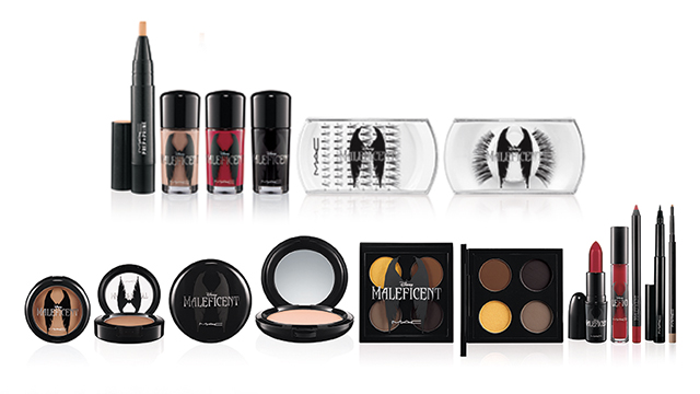 mac cosmetics maleficent full line First Look: MAC Cosemetics x Disneys Maleficent Makeup Line