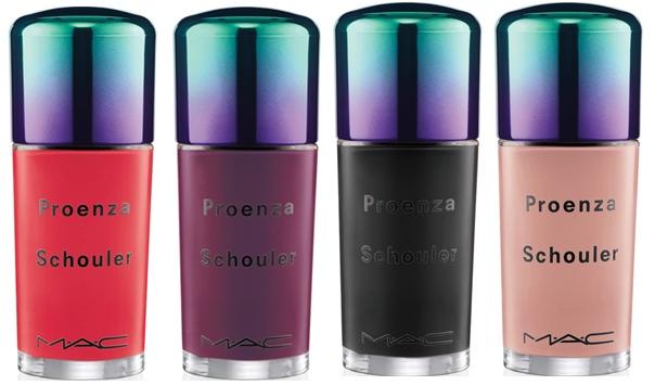 MAC Cosmetics x Proenza Schouler Nail Lacquers
