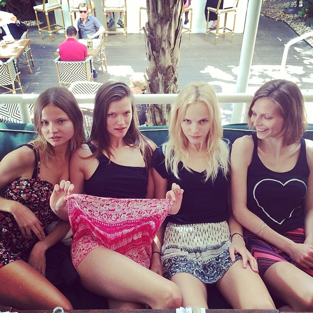 Instagram Photos of the Week   Naomi Campbell, Angela Lindvall + More Models