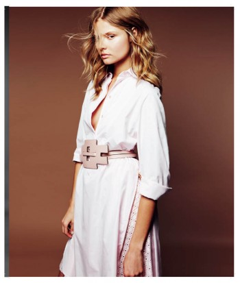 Magdalena Frackowiak Shows Less is More in Harper's Bazaar Poland Shoot