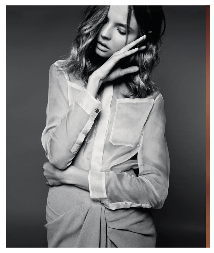 magdalena frackowiak poland6 Magdalena Frackowiak Shows Less is More in Harpers Bazaar Poland Shoot
