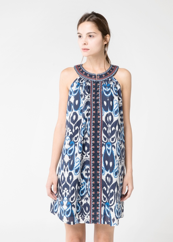 mango paisley dress 5 Spring Dresses to Get Right Now