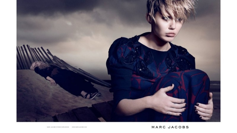 marc jacobs spring 2014 campaign photos1 800x448 See All the Photos From Miley Cyrus Spring Marc Jacobs Ads