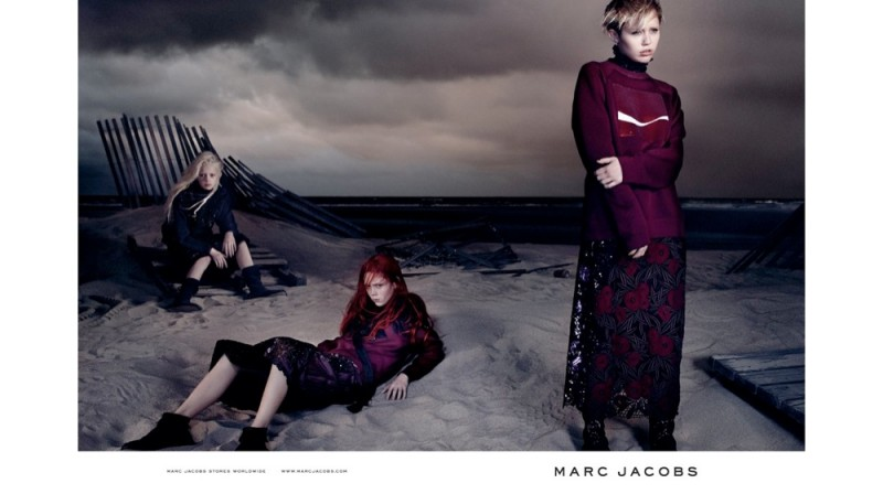 marc jacobs spring 2014 campaign photos3 800x448 See All the Photos From Miley Cyrus Spring Marc Jacobs Ads