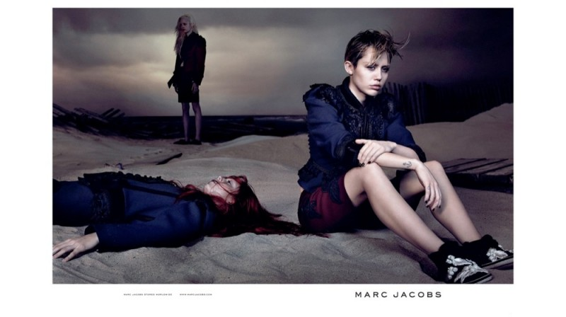 marc jacobs spring 2014 campaign photos6 800x448 See All the Photos From Miley Cyrus Spring Marc Jacobs Ads