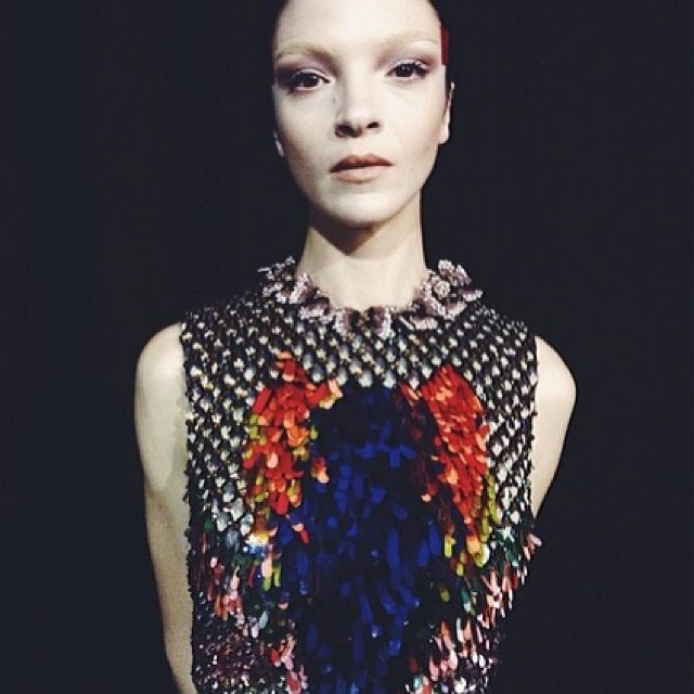 mariacarla givenchy Instagram Photos of the Week | Karlie Kloss, Isabeli Fontana + More Models