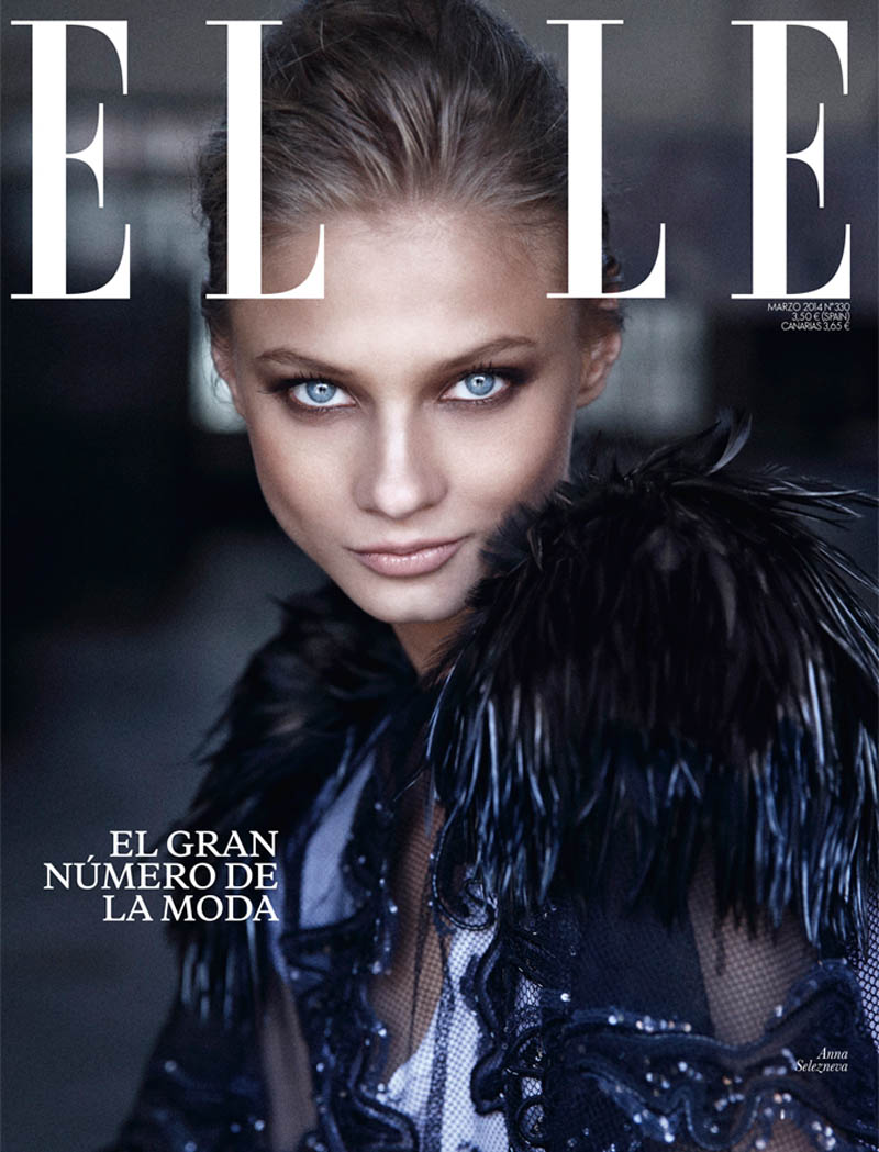 mario sierra anna7 Anna Selezneva is One of the Boys for Mario Sierra in Elle Spain Shoot