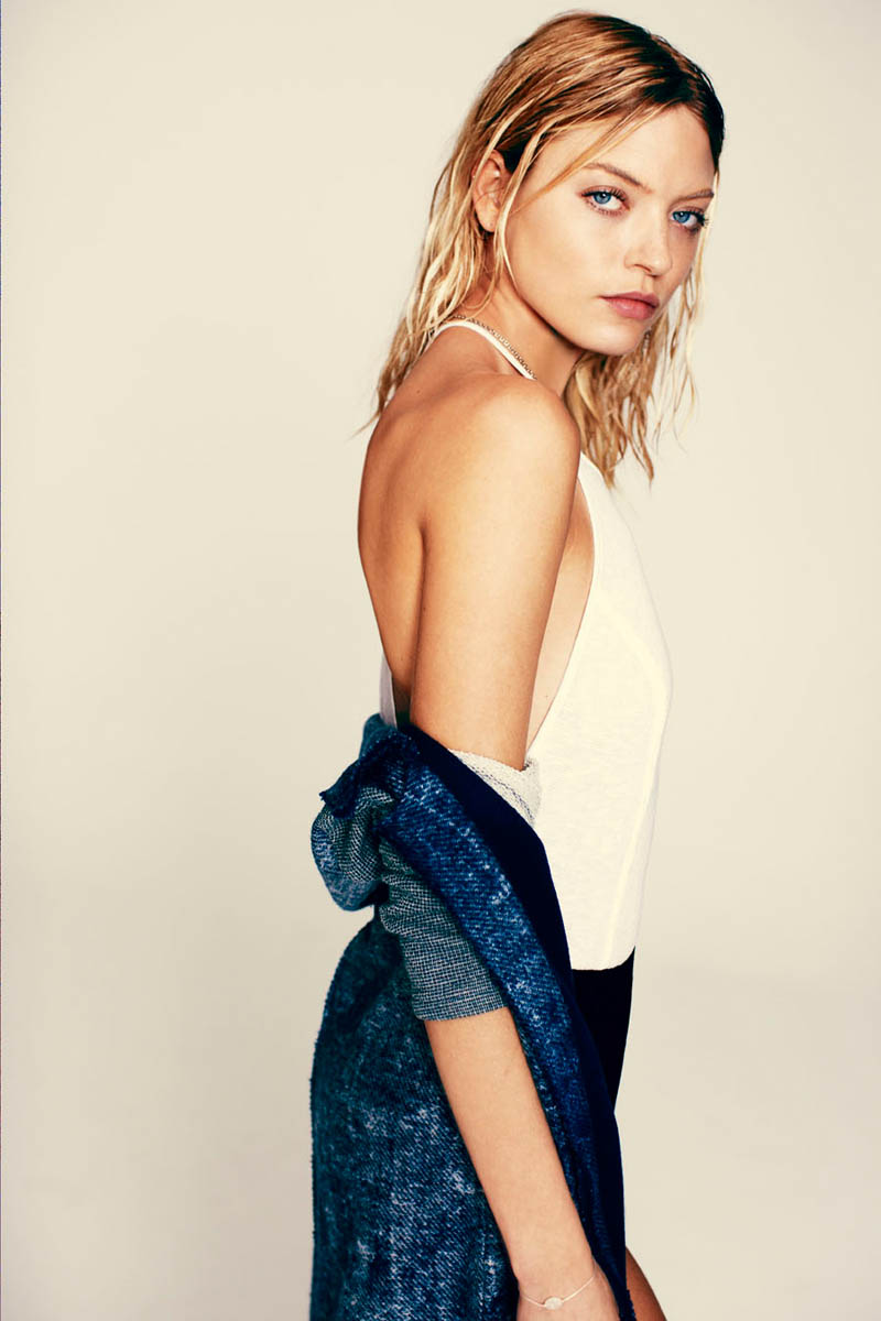 martha hunt free people1 Dual Nature: Martha Hunt Models for Free Peoples March Lookbook