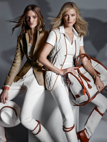 Carolyn Murphy & Esther Heesch Star in Massimo Dutti Equestrian Campaign