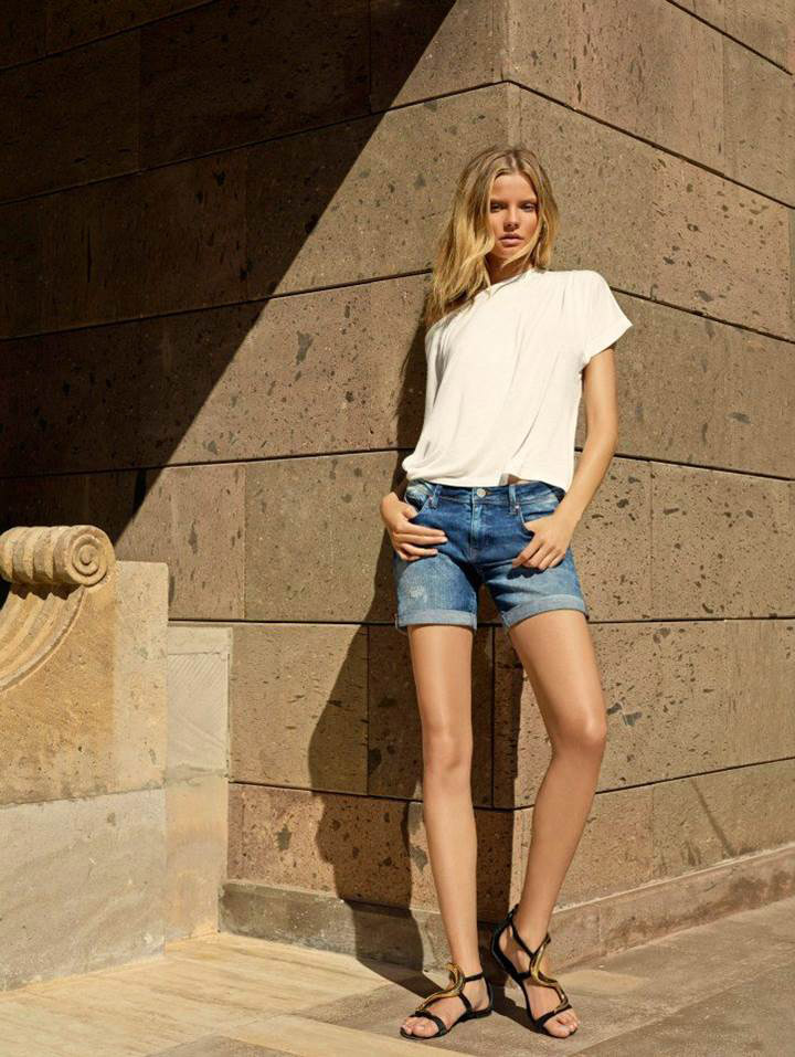 mavi jeans spring 2014 campaign11 Frida Gustavsson & Magdalena Frackowiak Star in Mavi Jeans Spring 2014 Campaign