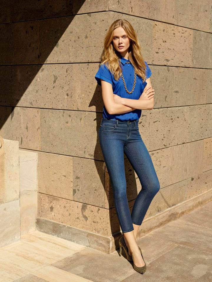 mavi jeans spring 2014 campaign12 Frida Gustavsson & Magdalena Frackowiak Star in Mavi Jeans Spring 2014 Campaign