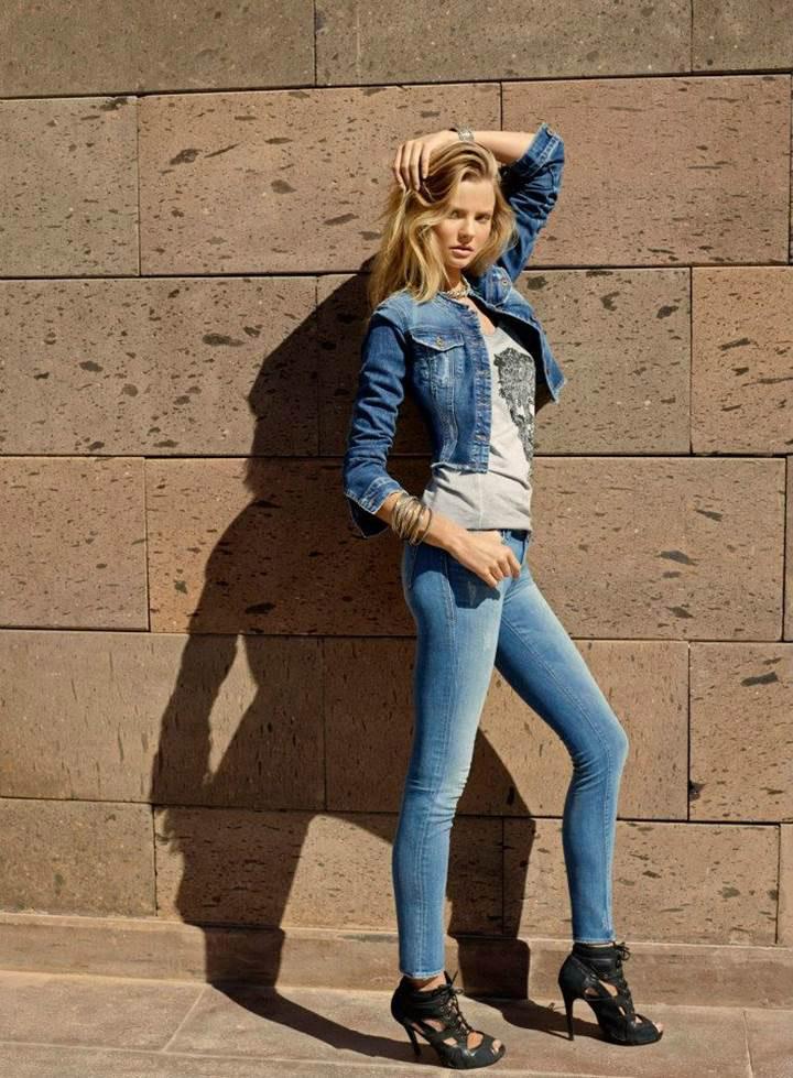 mavi jeans spring 2014 campaign13 Frida Gustavsson & Magdalena Frackowiak Star in Mavi Jeans Spring 2014 Campaign