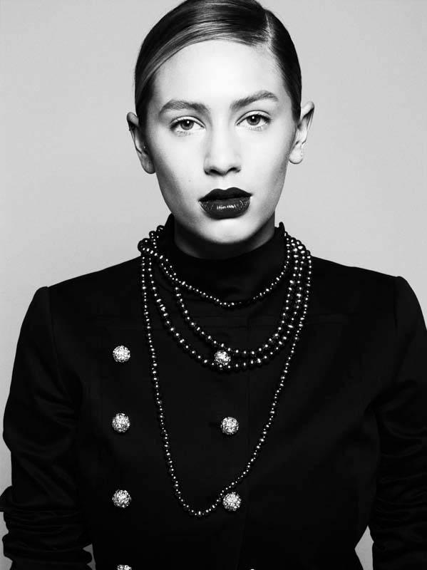 michel comte portraits13 Lydia Hearst, Mini Anden + More Star in Glamour Italia by Michel Comte