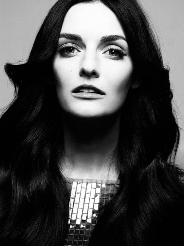 michel comte portraits3 Lydia Hearst, Mini Anden + More Star in Glamour Italia by Michel Comte