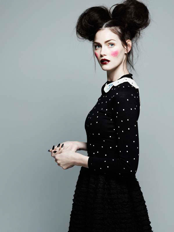 michel comte portraits4 Lydia Hearst, Mini Anden + More Star in Glamour Italia by Michel Comte