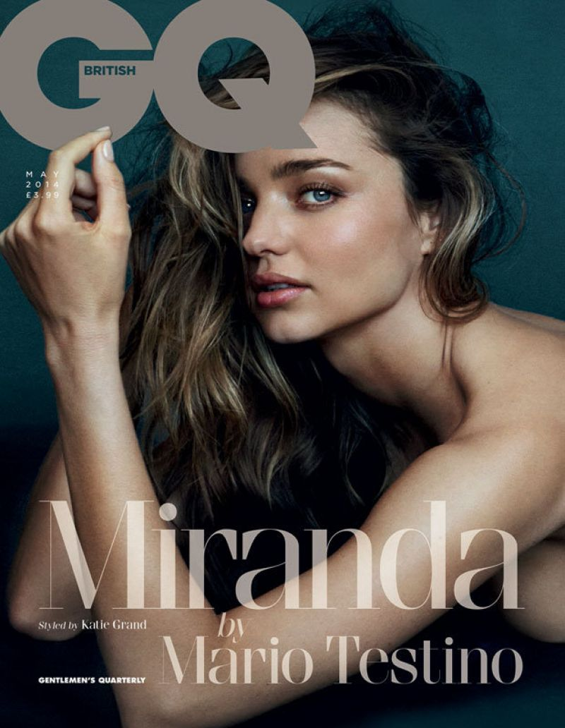 miranda kerr gq uk may 2014 cover Miranda Kerr Covers GQ UK, Talks Sex and Dating