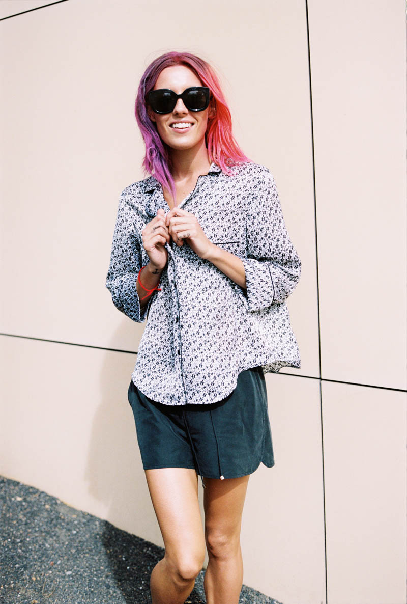 monki smile spring 2014 campaign1 Chloe Norgaard is Ready for Spring in New Monki Campaign