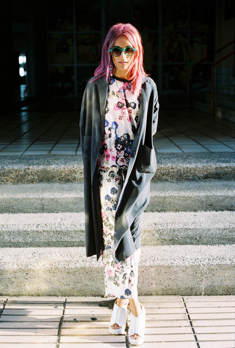 monki smile spring 2014 campaign10 Chloe Norgaard is Ready for Spring in New Monki Campaign
