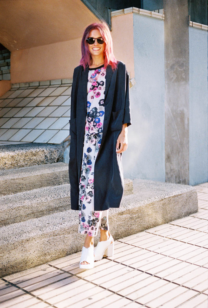 monki smile spring 2014 campaign4 Chloe Norgaard is Ready for Spring in New Monki Campaign