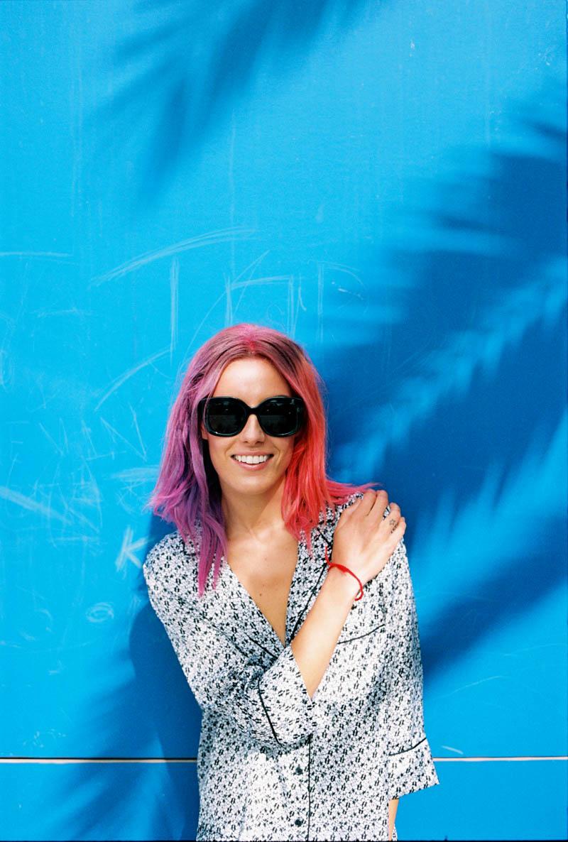 monki smile spring 2014 campaign8 Chloe Norgaard is Ready for Spring in New Monki Campaign
