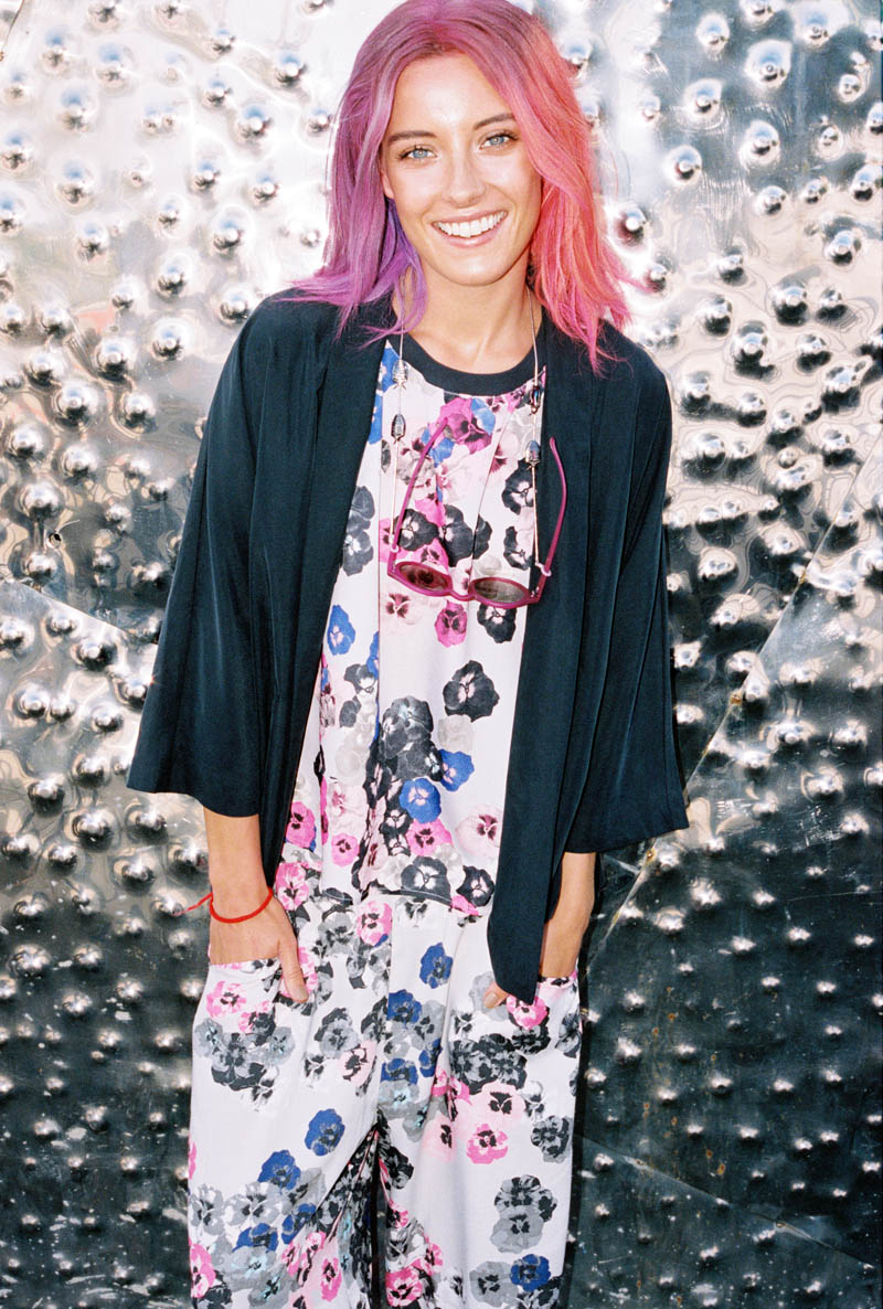 monki smile spring 2014 campaign9 Chloe Norgaard is Ready for Spring in New Monki Campaign