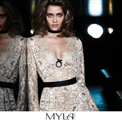 myla spring 2014 ana beatriz barros5 Ana Beatriz Barros Stars in Myla London Lingerie S/S 2014 Campaign