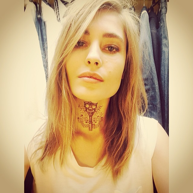 nadja tattoo Instagram Photos of the Week | Karlie Kloss, Isabeli Fontana + More Models