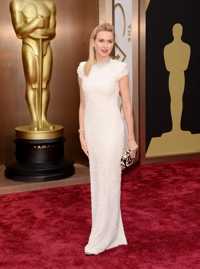naomi watts calvin klein oscars 2014 Oscars Red Carpet Looks