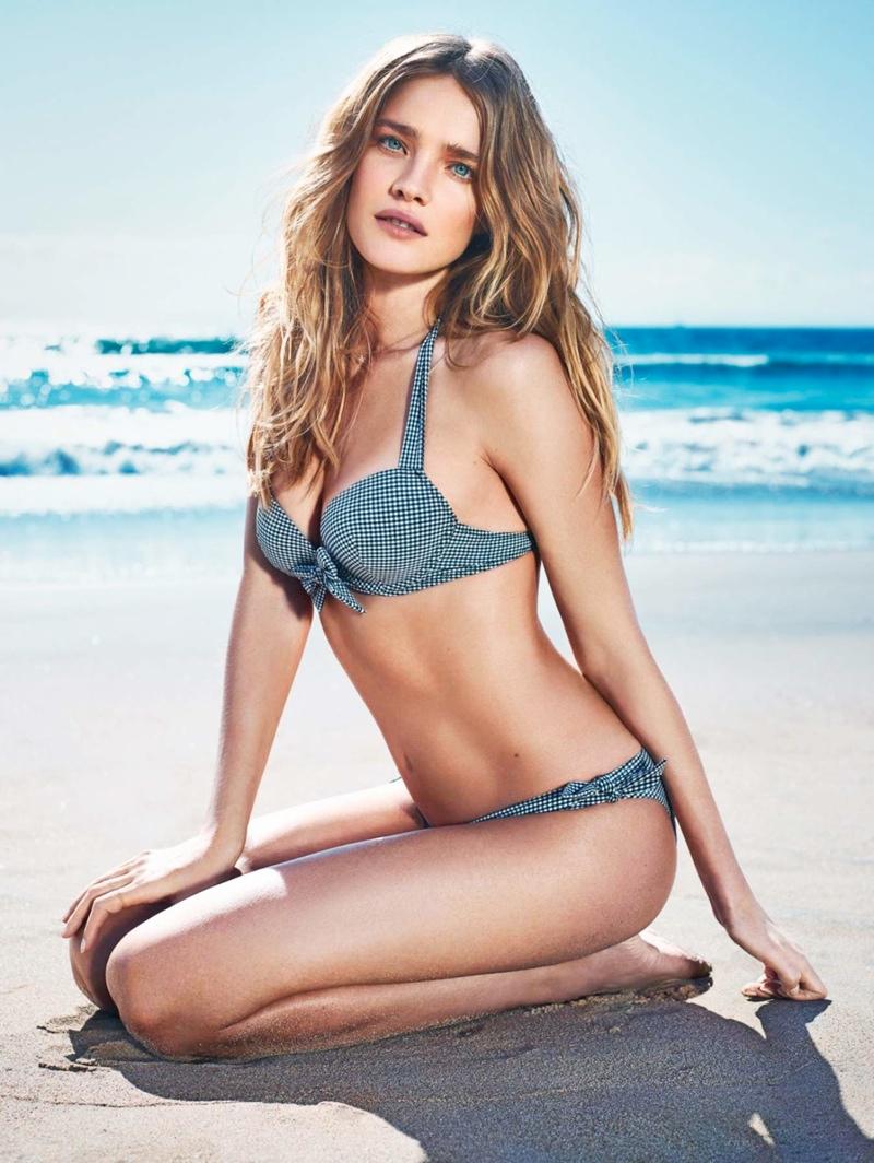 natalia vodianova etam spring 20142 Natalia Vodianova Wows for Etam Spring 2014 Swimwear Campaign