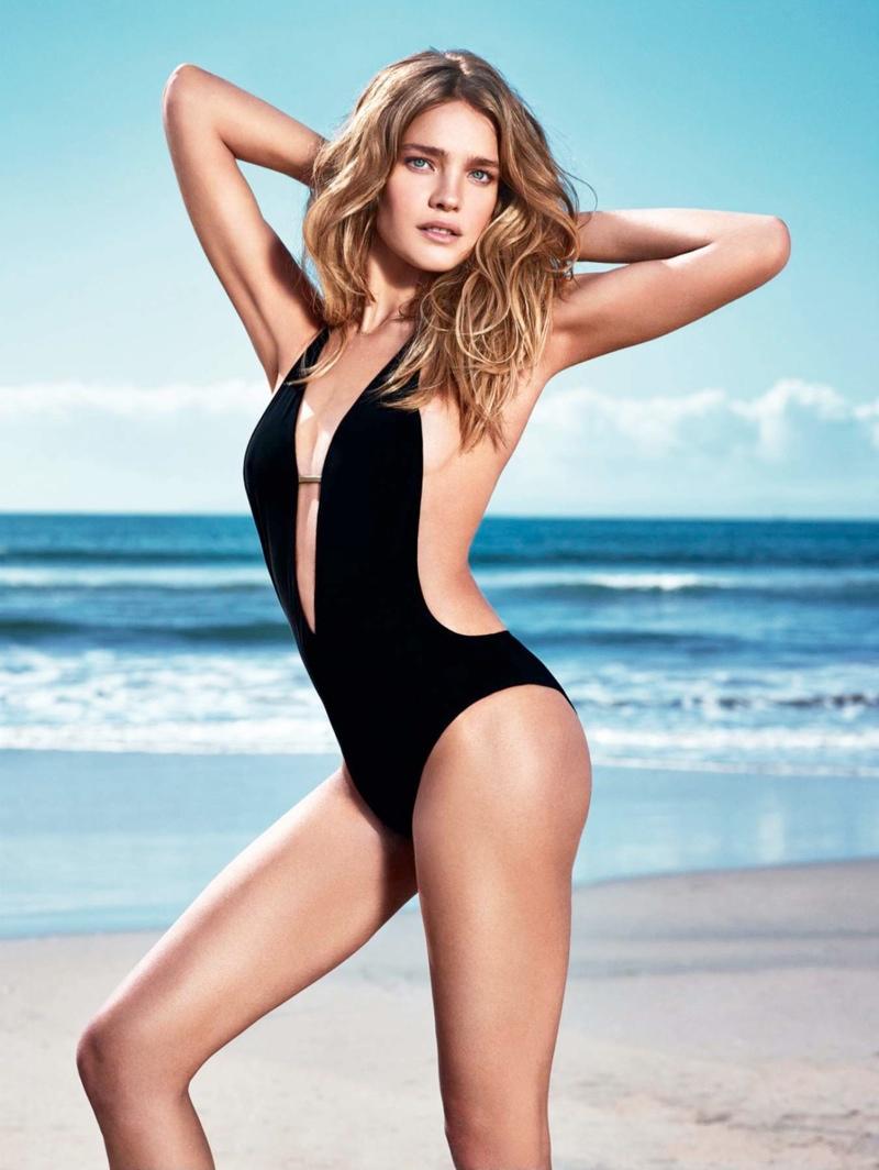 natalia vodianova etam spring 20147 Natalia Vodianova Wows for Etam Spring 2014 Swimwear Campaign