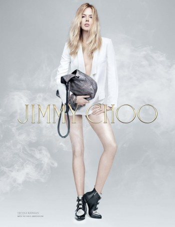 Nicole Kidman Brings Attitude to Jimmy Choo Pre-Fall 2014 Campaign