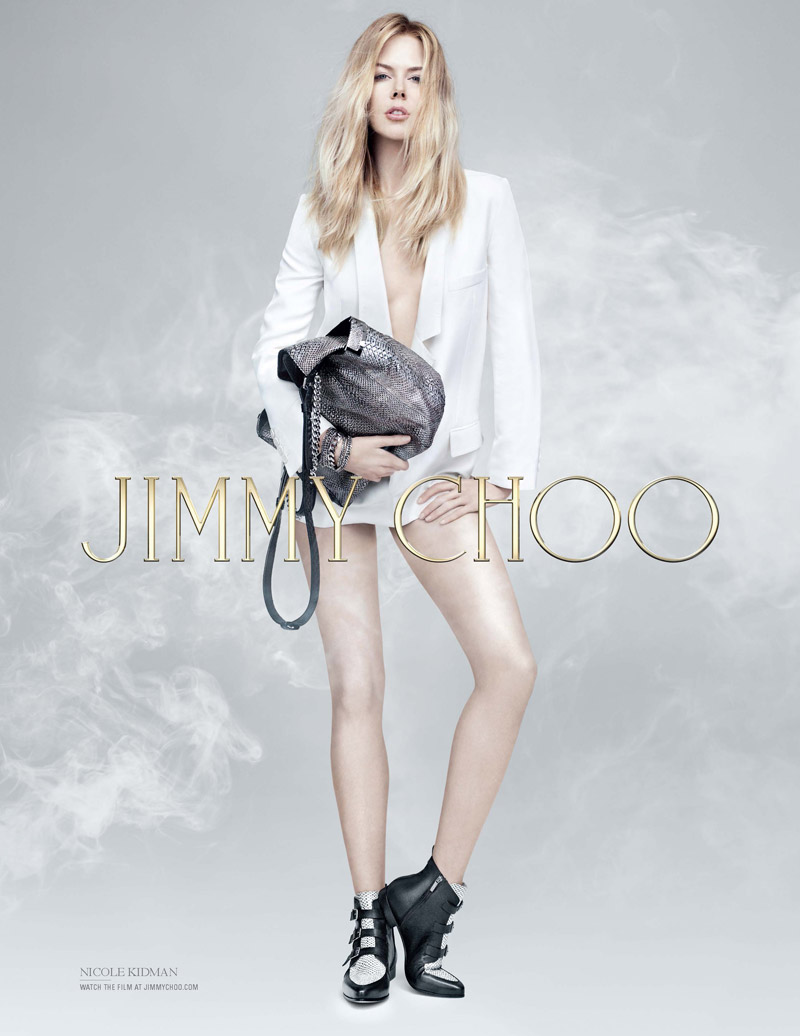 Nicole Kidman Brings Attitude to Jimmy Choo Pre-Fall 2014 Campaign