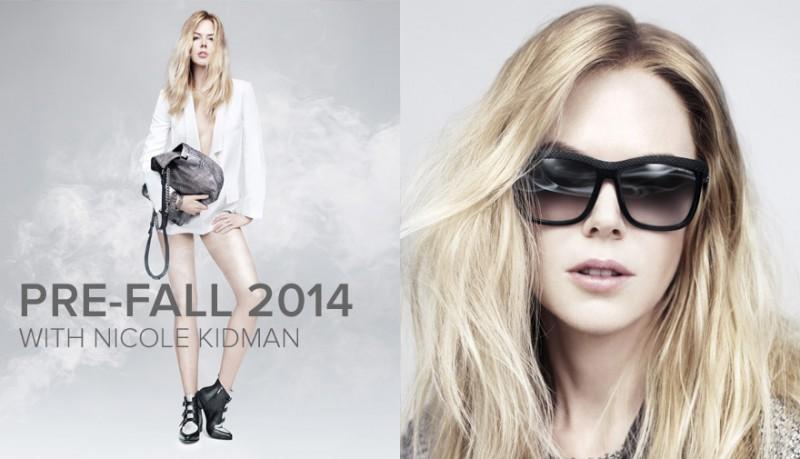 nicole kidman jimmy choo prefall 2014 campaign2 800x459 Nicole Kidman Brings Attitude to Jimmy Choo Pre Fall 2014 Campaign