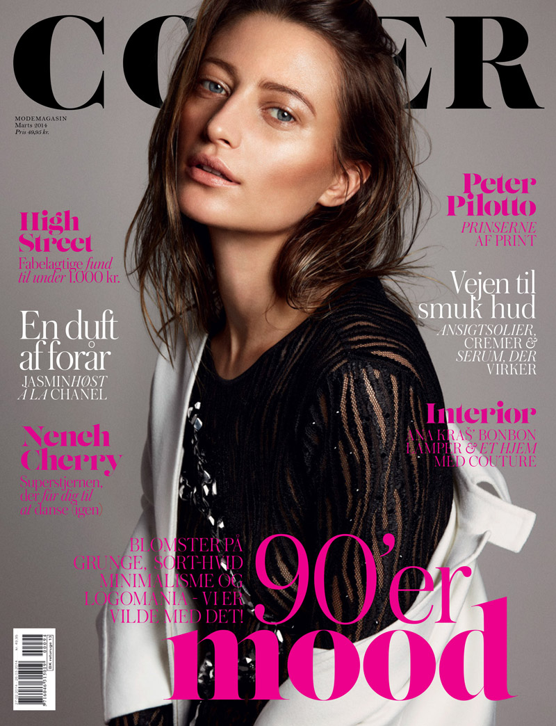 Noot Seear Wears Party Chic for COVER Shoot by Andreas Ohlund + Maria Therese