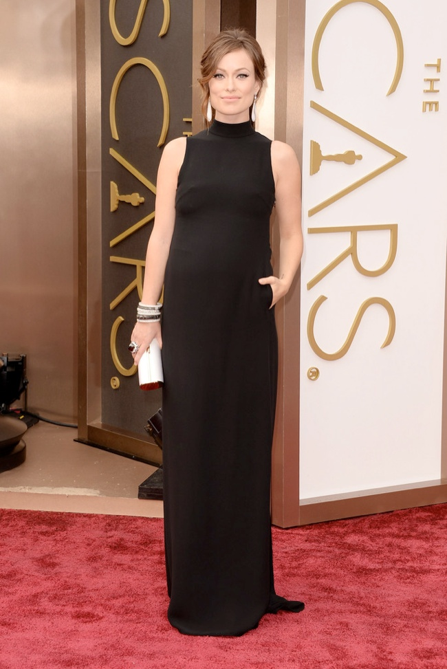 olivia wilde valentino oscars 2014 Oscars Red Carpet Looks