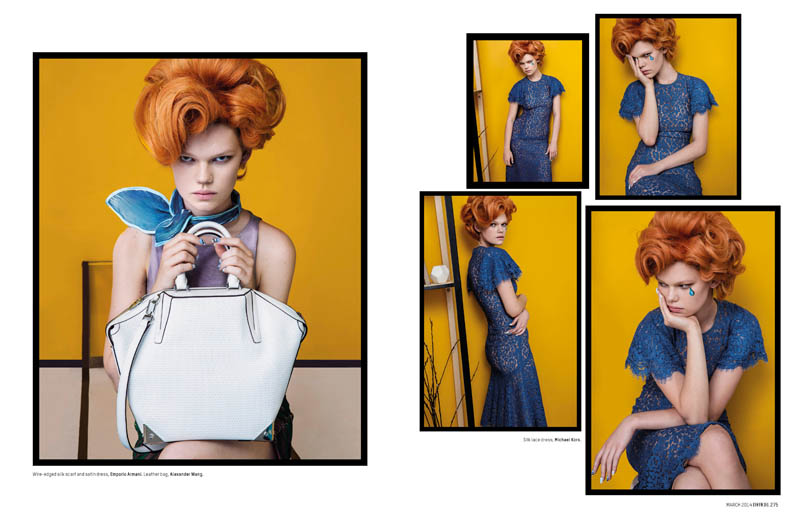 pop art an le2 Pop Art: Kelly Mittendorf Gets Retro for An Le in LOfficiel Singapore
