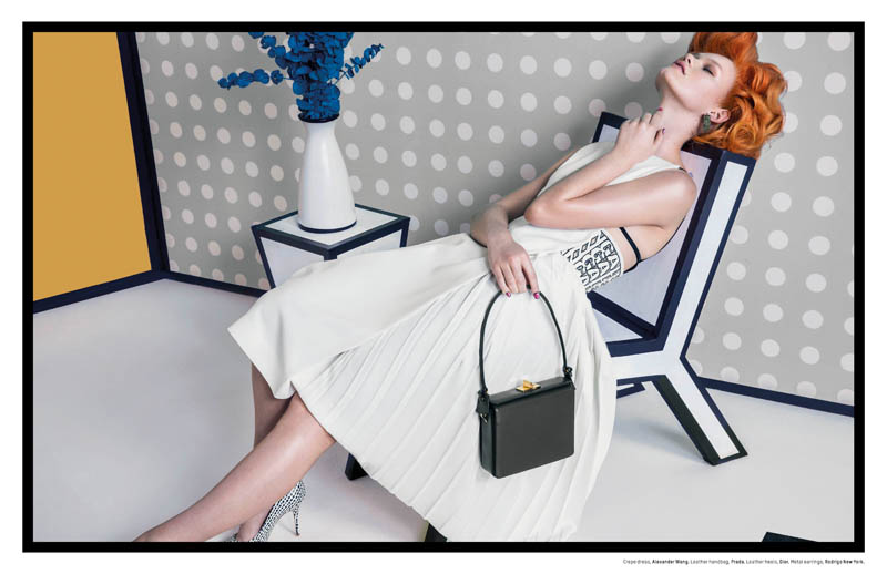 Pop Art: Kelly Mittendorf Gets Retro for An Le in L'Officiel Singapore