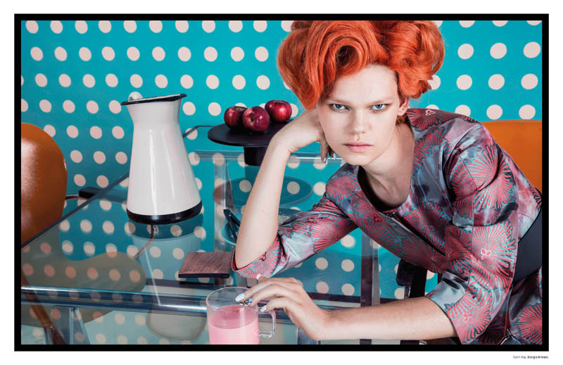 pop art an le4 Pop Art: Kelly Mittendorf Gets Retro for An Le in LOfficiel Singapore