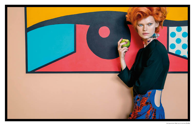 pop art an le8 Pop Art: Kelly Mittendorf Gets Retro for An Le in LOfficiel Singapore