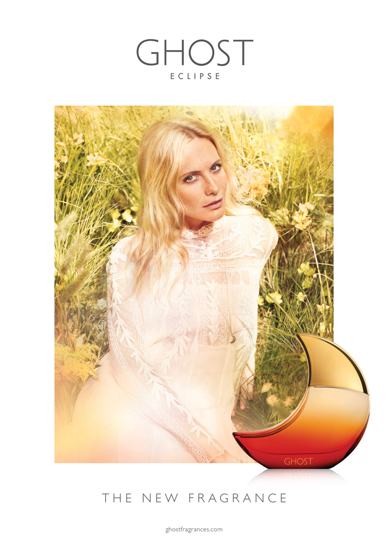 poppy delevingne ghost eclispe fragrance Poppy Delevingne Lands Ghost Eclipse Fragrance Campaign